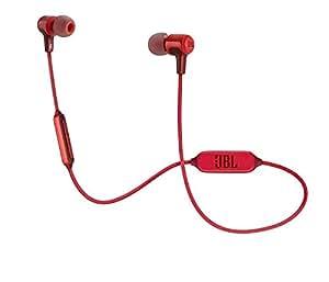 JBL Harman E25 蓝牙 入耳式 耳机 - 红色