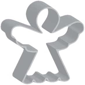 Flavortools Angel Cookie Cutter with Exclusive Flavortools Copyrighted Cookie Recipe Booklet, 5-Inch
