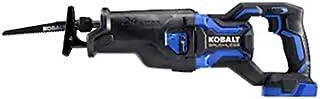 Kobalt XTR 24 伏*大变速无刷无绳往复锯(仅适用于油漆,不含电池)