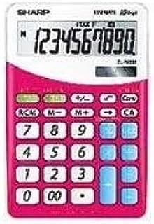 Sharp ELM 332BPK 计算器 十位数 粉红色