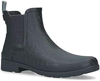 Hunter 女式精致切尔西珊瑚纹理雨靴