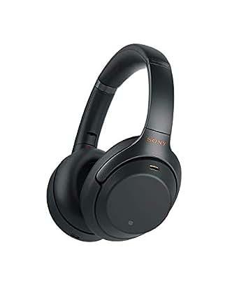 Sony 索尼 WH-1000XM3 无线降噪立体声耳机 (30小时续航,快速充电,手势控制,环绕声模式) 黑色