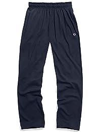 Champion 男式 直筒轻质针织运动裤