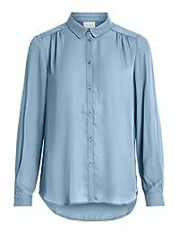 Vila 女士 Vilucy L/S 紐扣襯衫-紐紋襯衫
