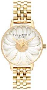 Olivia Burton 3D 雏菊白色表盘女士手表 OB16FS100