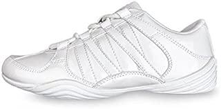 8 片装 Glitz Cheer 鞋子 9.5 码女式白色