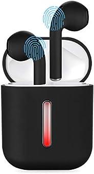 無線耳機,Chelvee 藍牙 V5.0 耳塞,真正的無線耳機,立體聲運動耳機,帶充電盒,降噪耳塞,兼容智能手機