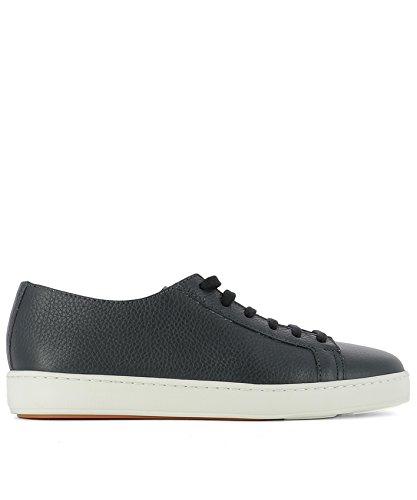 SANTONI SANTONI 男人 MBCN14387BA6CMIAU55 蓝色 皮革 运动鞋 / 意大利直邮【亚马逊海外卖家】