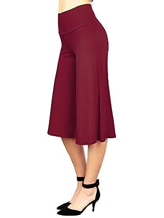 MBJ 女士针织七分裤裤装-美国制造 Wb876_wine XXXX-Large