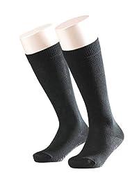 FALKE 男孩款家庭 knee-high 短袜 黑色 39-42