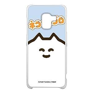 STUDY优作 壳 透明 硬质 印刷 猫狗的哥罗WN-LC1095659 3_ Galaxy Feel2 SC-02L ネコこのゴロE