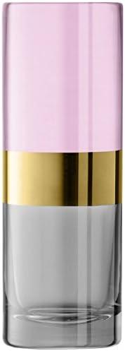 LSA International Bangle 花瓶 粉红色 H20cm BN18