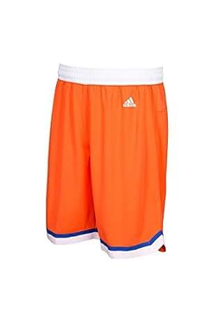 克利夫兰骑士队 Adidas 青年 Hardwood 经典摇摆人橙色短裤 男孩 8-20 橙色 Youth Small / 8