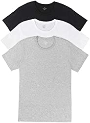Calvin Klein 卡爾文·克萊恩 男式 棉質經典短袖圓領T恤