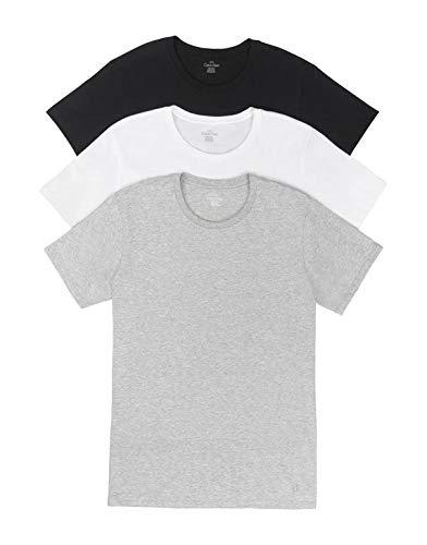 カルバンクラインカルバンクラインメンズ上下綿の組み合わせ***古典的な半袖コットンTシャツ