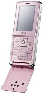 LG KM380 Real Music GSM 解锁手机(淡粉色)- 国际版无保修