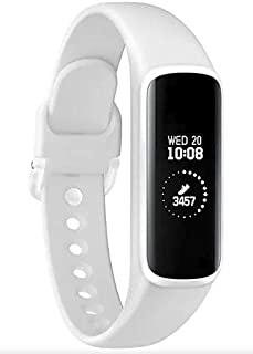 Samsung 三星 Galaxy Fit E 2019,健身带,计步器,心率和*追踪器,PMOLED显示屏,5ATM防水,MIL-STD-810G,蓝牙主动SM-R375 - 国际版