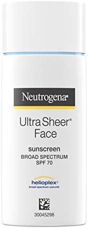 Neutrogena 超透明*霜,SPF 70,1.4 盎司 1包