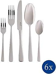 Villeroy & Boch德国唯宝19-5315-9053 Vivo Group Voice Basic餐具套装,30件套,由易保养的不锈钢材质组成