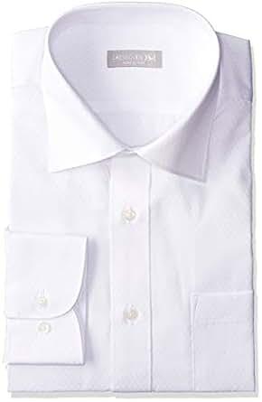 [礼服代码101] 每天穿着 形态稳定 衬衫 男士 长袖 公司的经典款 简约 标准 形状* W&W性3.2级以上 免烫 Y衬衫 纽扣式 不容易皱褶 SHDZ17-3L尺寸 日本 3L (日本尺寸相当于3L)