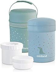 Termo Miniland 保温食品保温器,带冰淇淋容器 蓝色