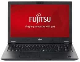 Fujitsu LifeBook E558 笔记本电脑 - Intel Core i3-7130U 2.7GHz, 4GB DDR4, 500GB