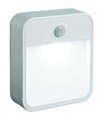 美国Mr.Beams MB722 电池供电运动传感LED夜灯 可随处粘贴 白色