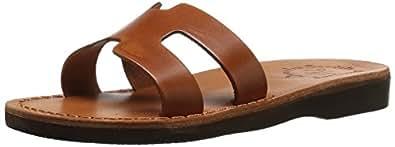 Jerusalem Sandals 女士 Anna 拖鞋 蜂蜜色 37 EU/6 M US