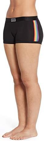 TomboyX 男孩短裤内裤,超细莫代尔弹力柔软全天舒适(XS 到 4X)
