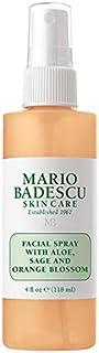 Mario Badescu 芦荟面部喷雾,鼠尾草和橙花,4 液体盎司 盎司