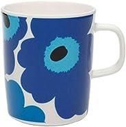 Marimekko 马克杯 白色 蓝色 250 毫升 63431 017