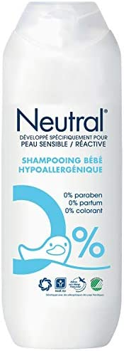 中性低*性婴儿洗发露,适用于敏感和反应性皮肤 - 250 毫升
