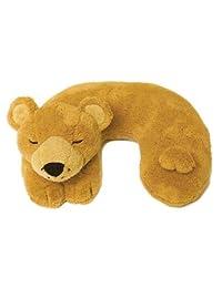 Ton Ton 儿童旅行伙伴颈枕 - 棕色熊