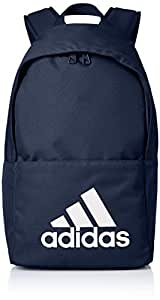 adidas 阿迪达斯 中性 双肩背包 DM7677 学院藏青蓝/学院藏青蓝/白 均码