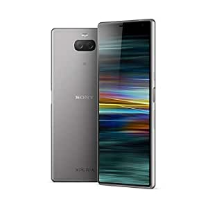 Sony Xperia 10 Plus 6.5 Inch 21:9 Full HD+ display Android 9 UK SIM-Free Smartphone with 4GB RAM and 64GB Storage - Silver