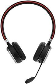 Jabra Evolve 65 无线蓝牙耳机,适用于个人电脑、笔记本电脑、智能手机、软电话和平板电脑52657 适用于 Microsoft Lync/立体声