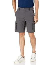 Amazon Essentials 男士标准轻质防撕裂弹力工装短裤
