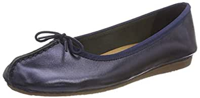 Clarks 女 Freckle Ice生活休闲鞋261382454035 蓝色 36