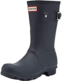 Hunter Boots 女 Original short 经典短雨靴 WFS1000RMA 蓝色 37 (UK 4)