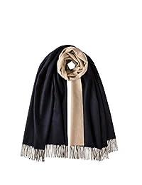 Johnstons of Elgin 双面羊绒纯色披肩WA585