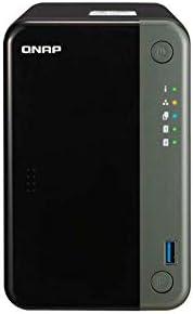 QNAP TS-253D-4G 2-Bay 台式机 NAS,4GB RAM