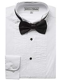 Gentlemens Collection 男士燕尾服衬衫涤纶/棉 - 包括免费领结