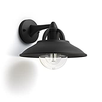 Philips 飞利浦 myGarden 户外壁灯 E27,黑色 黑色 25  x  27  x  20.7 cm 1738130PN
