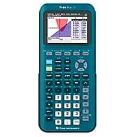 Texas Instruments TI-84 Plus CE 手持式图形计算器,青色,84PLCE/TBL/1L1/AS