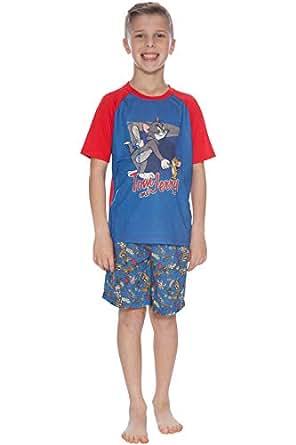 "Tom & Jerry ""Mishap""睡衣短裤套装 蓝色 6-7"