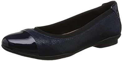Clarks 女 Neenah Garden生活休闲鞋261288615045 蓝色 37.5