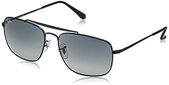 Ray-Ban 男士太阳镜金属,钢 黑色 60 mm