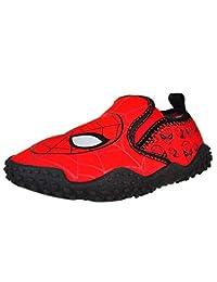 Spiderman 一脚蹬水鞋红色幼儿/小孩