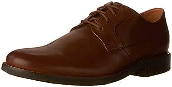 Clarks 男 正装鞋 261241757060 棕褐色 39.5  Becken Plain/贝肯系带