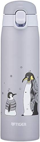 Tiger 虎牌 水壺 500ml KAMEICHIDO 馬克杯 不銹鋼水杯 一鍵開啟式 輕巧 企鵝 MCT-A050H